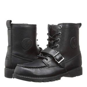 Boys Polo Ranger Hi boots paid $89 size 5 like new